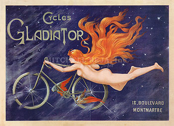 Cycles Gladiator, 1895 ca